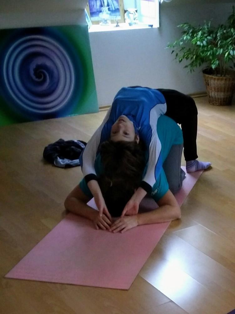 Family yoga